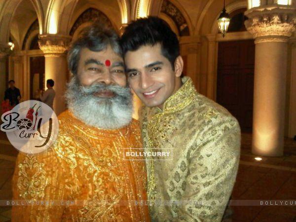 Vishal Singh with Anupam Shyam Ojha