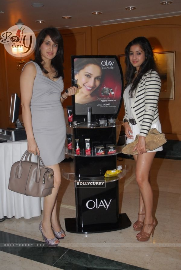 Sagarika Ghatge at Olay launches Olay Regenerist in colaboration with Harpers Bazaar