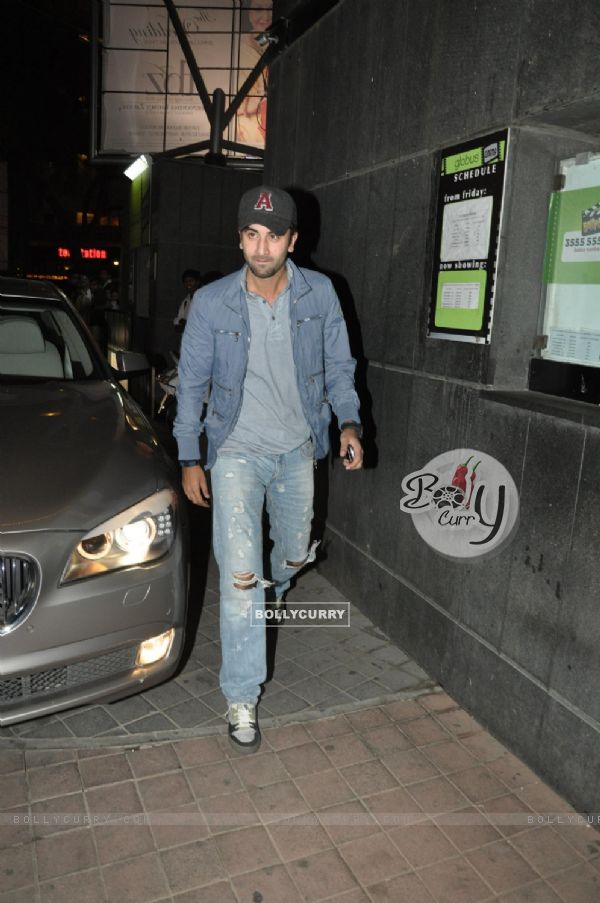 Ranbir Kapoor grace screening of film 'Desi Boyz' (171692)
