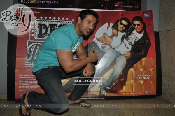 John Abraham at screening of film 'Desi Boyz' (171704)