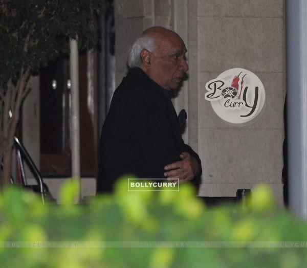 Yash Raj Chopra grace Tom Cruise welcome party at Taj Mahal Hotel, colaba