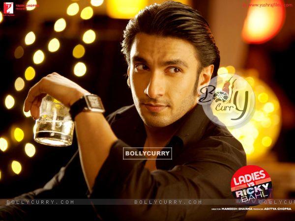 Ranveer Singh in the movie Ladies vs Ricky Bahl