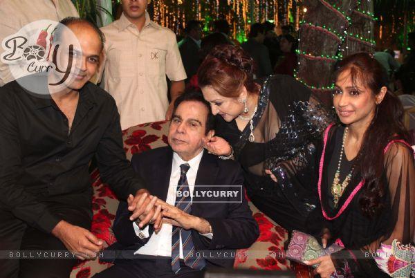 Ashutosh Gowarikar, Saira Banu grace Dilip Kumar's 89th Birthday Party