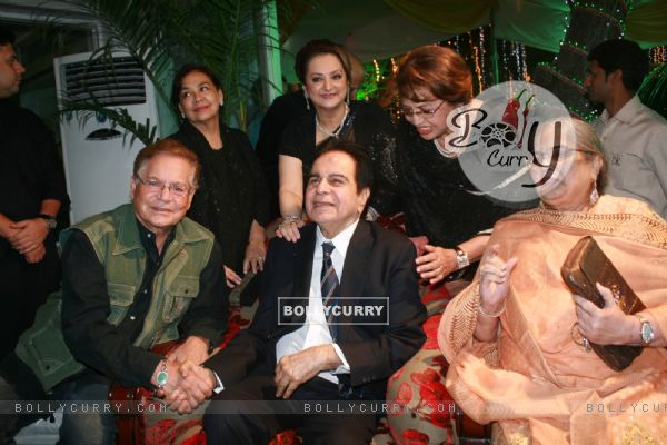 Farida Jalal, Helen, Saira Banu grace Dilip Kumar's 89th Birthday Party