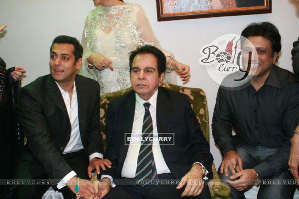 Salman Khan and Govinda grace Dilip Kumar's 89th Birthday Party