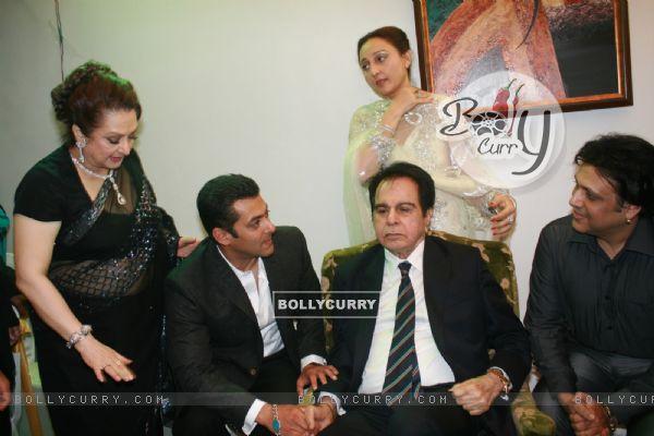 Salman Khan, Govinda, Saira Banu grace Dilip Kumar's 89th Birthday Party