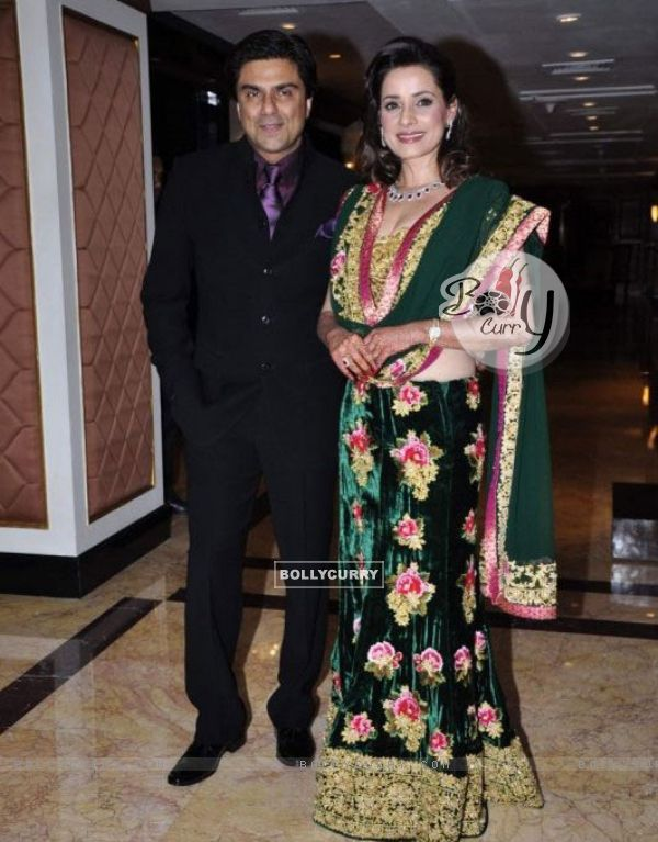Sameer Sonii and Neelam at their Wedding Reception