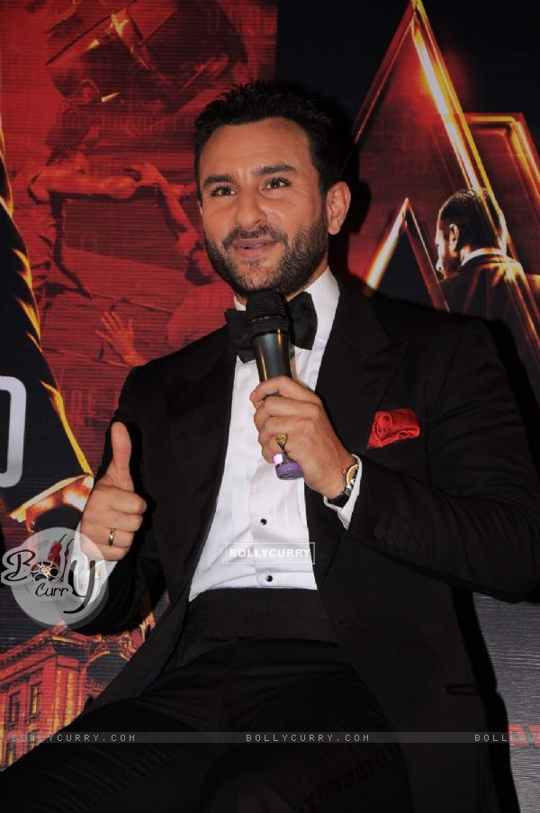 Saif Ali Khan at the 'Agent Vinod' Press Conference (180908)