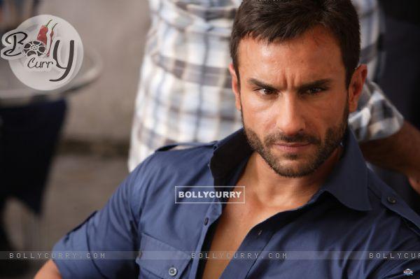 Saif Ali Khan in the movie Agent Vinod