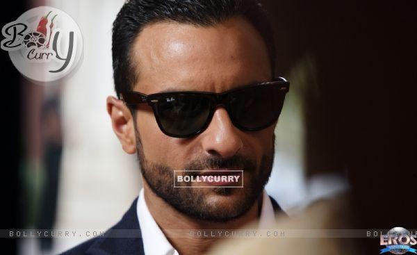 Saif Ali Khan as Vinod in the movie Agent Vinod