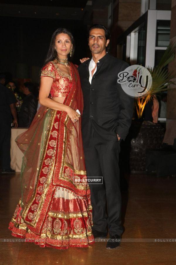Bollycurry Arjun Rampal With Wife Grace Ritesh Deshmukh Genelia