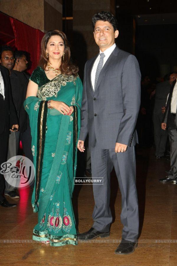 Bollycurry Madhuri Dixit With Dr Nene Grace Ritesh Deshmukh