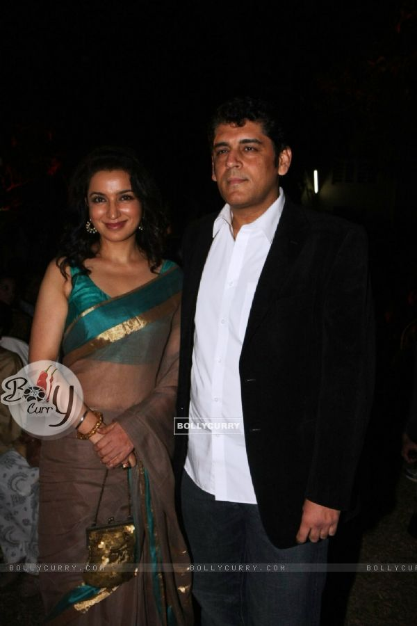 Tisca Chopra at Launch of Devdas dialogue book at Mehboob Studios in Bandra, Mumbai