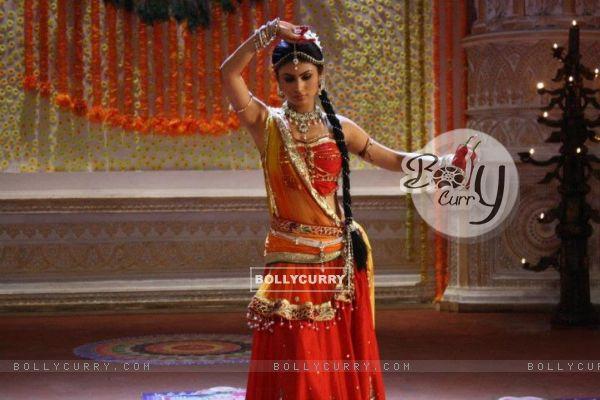 Mouni as Sati in Devon Ke Dev. Mahadev