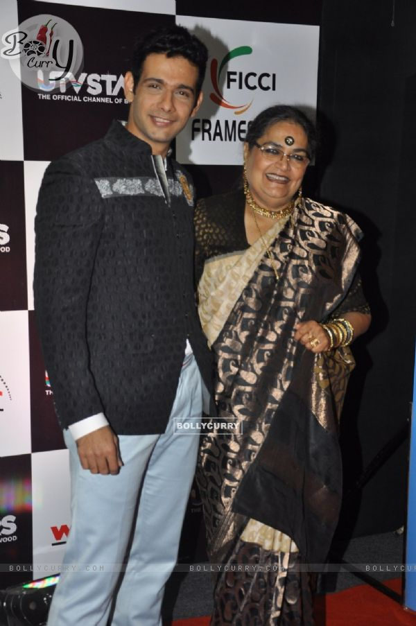 Celebs at FICCI FRAMES 2012 AWARDS at Hotel Renaissance in Powai, Mumbai