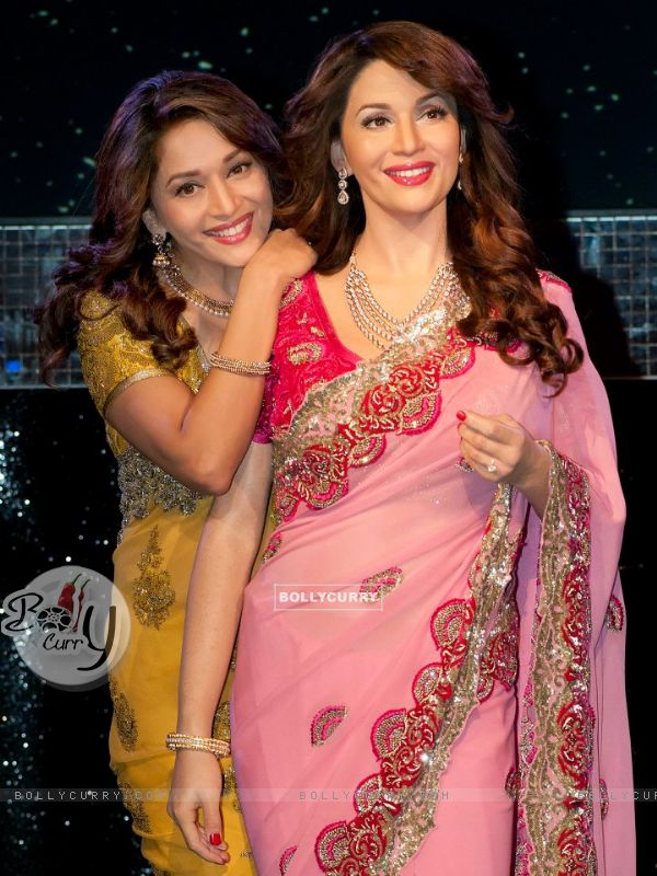 Madhuri with Madhuri