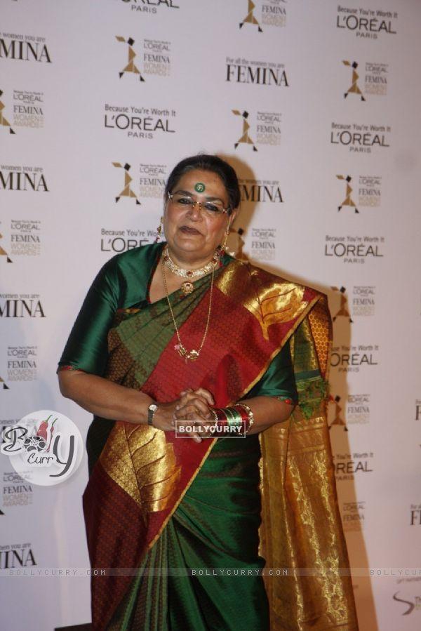 Usha Uthup at Loreal Femina Women Awards 2012