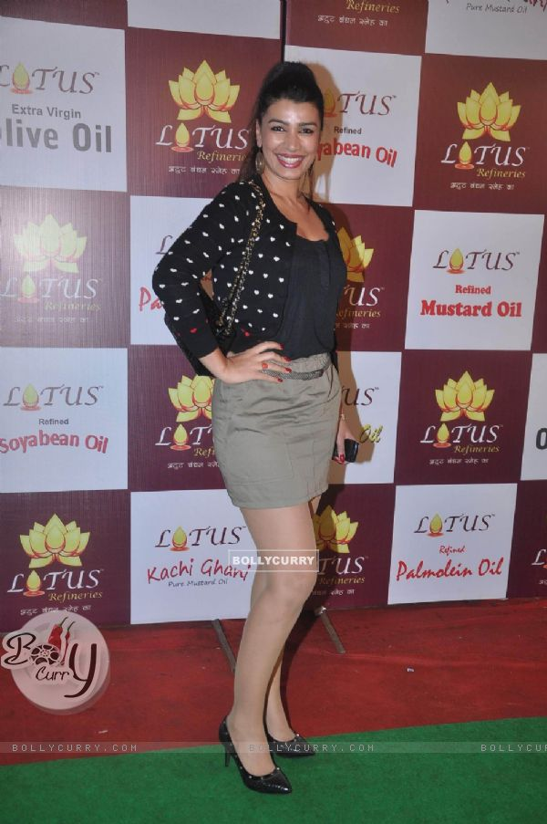 Mink Brar at Lotus Refineries launch