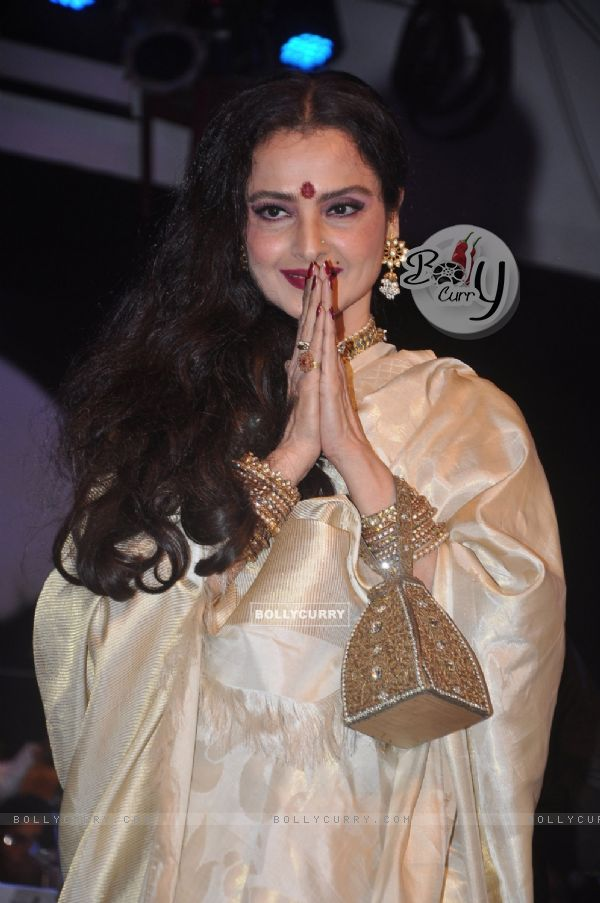 Rekha at Laxmikant Pyarelal night