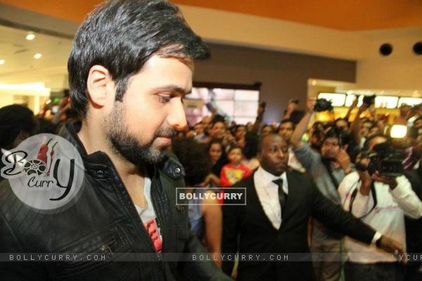 Emraan Hashmi at the premiere of Jannat 2 at Diera City Centre Dubai