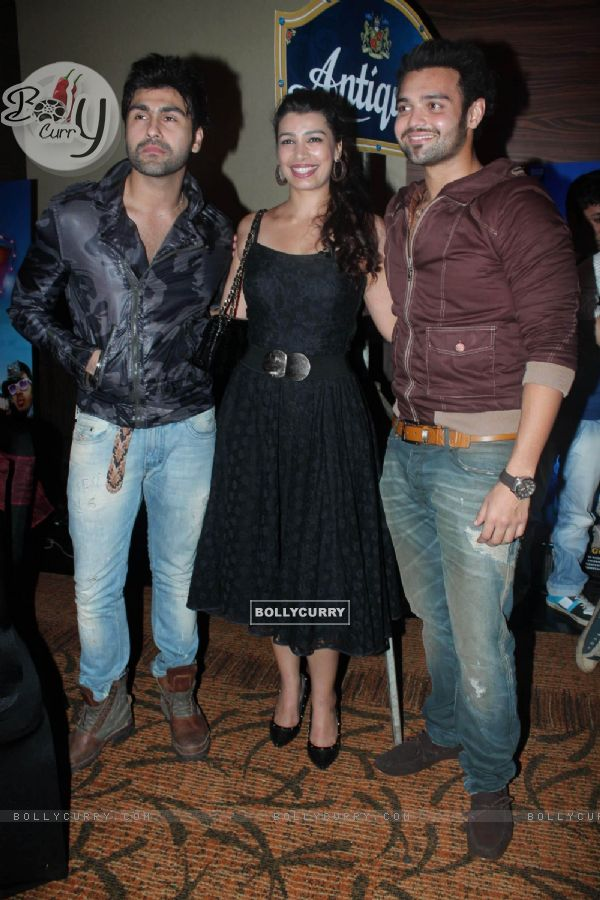Celebs at the first look of movie Tukkaa Fit at Novotel in Mumbai. .