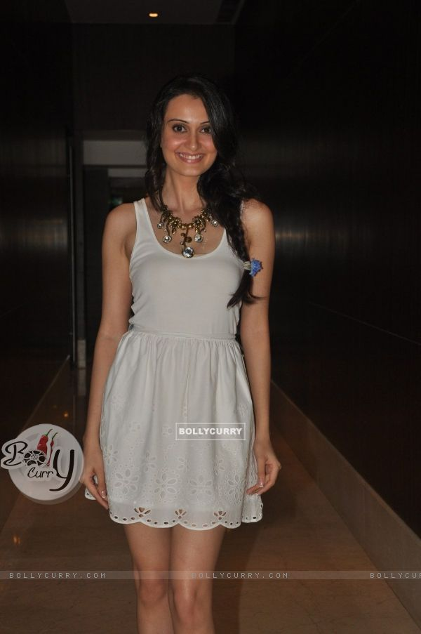 Vaishali Desai at Film Tukkaa Fitt first look launch at Hotel Novotel in Juhu, Mumbai