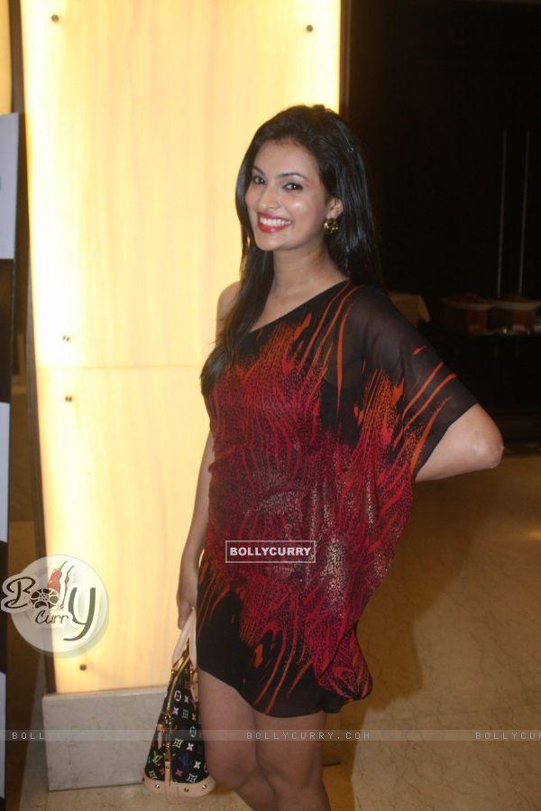 Sayali Bhagat at Film Tukkaa Fitt first look launch at Hotel Novotel in Juhu, Mumbai
