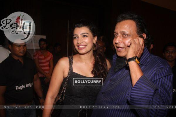 Mink and Mithun Chakraborty at Film Tukkaa Fitt first look launch at Hotel Novotel in Juhu, Mumbai