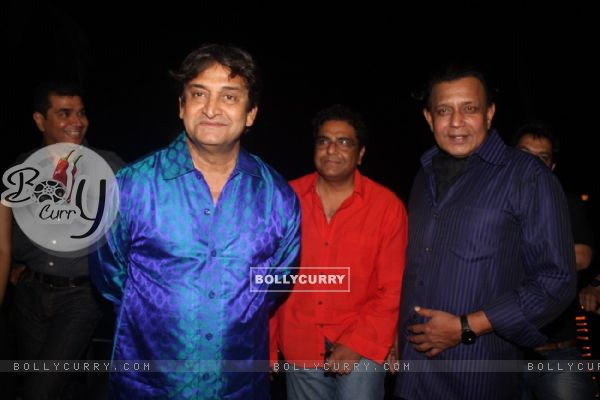 Mahesh Manjrekar, Zakir Hussain & Mithun Chakraborty at Film Tukkaa Fitt first look launch