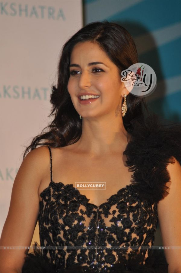 Katrina Kaif brand ambassador for �Nakshatra� during unveiling the new Logo and brand campaign
