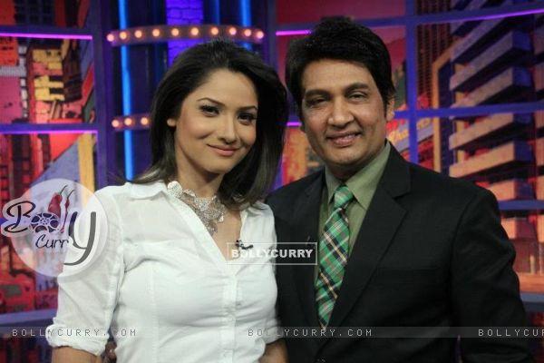 Ankita Lokhande And Shekar Suman
