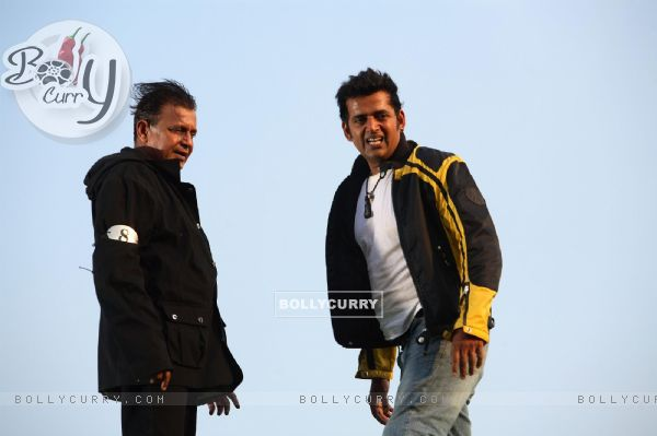 Mithun and Ravi looking relaxed