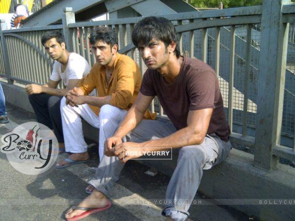 Sushant Singh Rajput, Amit Sadh, Raj Kumar Yadav In Kai Po Che