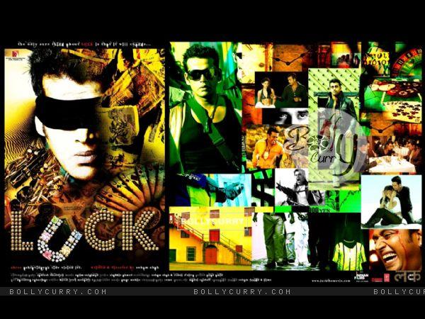 Wallpaper of Luck movie with Ravi Kissen