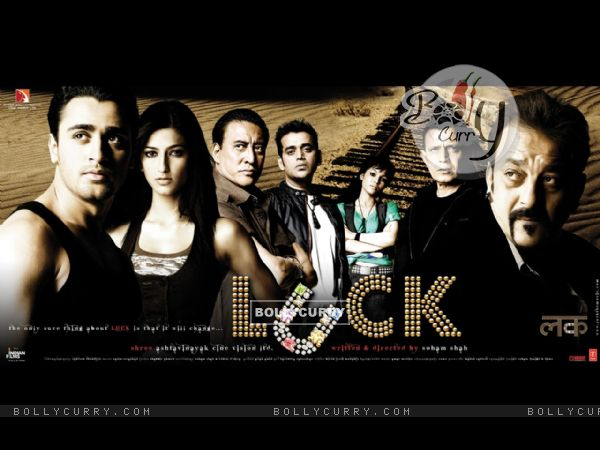 Luck movie wallpaper with Imraan,Sanjay,Shruti......