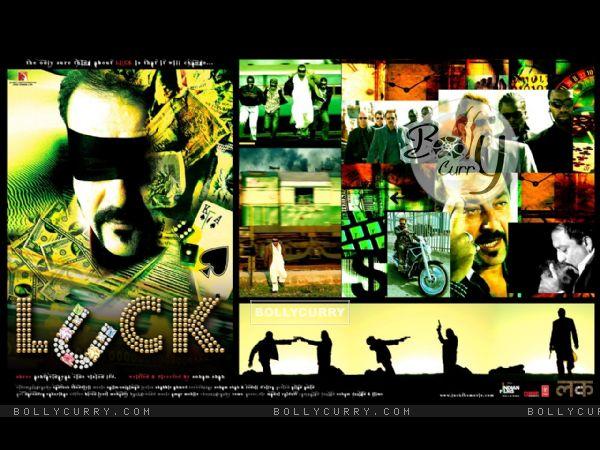 Luck movie wallpaper with Sanjay Dutt