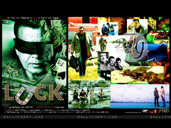 Wallpaper of Luck movie with Mithun Chakraborty
