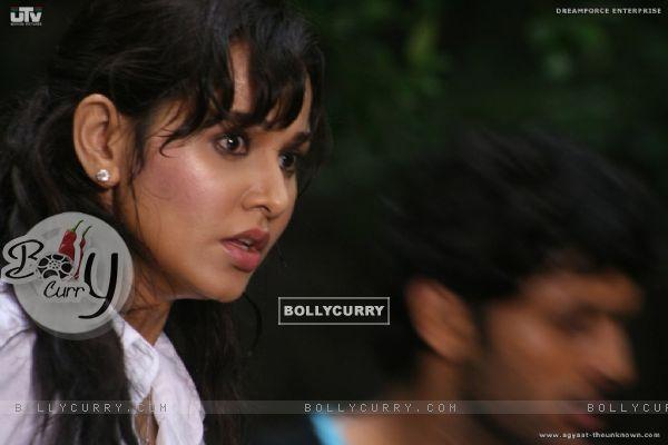 Nisha Kothari looking shocked (20381)