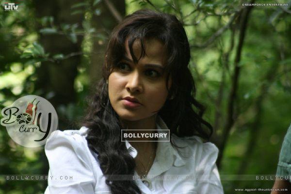 Nisha Kothari looking angry (20382)