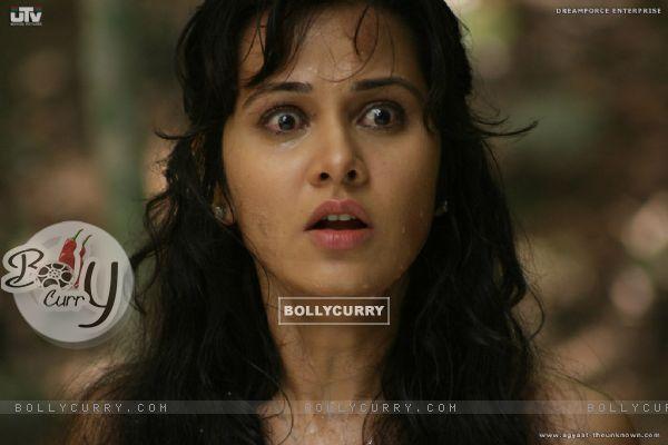 Nisha Kothari looking feared (20395)