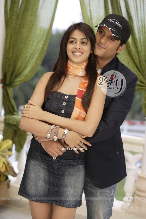 Fardeen Khan and Genelia D''Souza in Life Partner ... Genelia D Souza In Life Partner