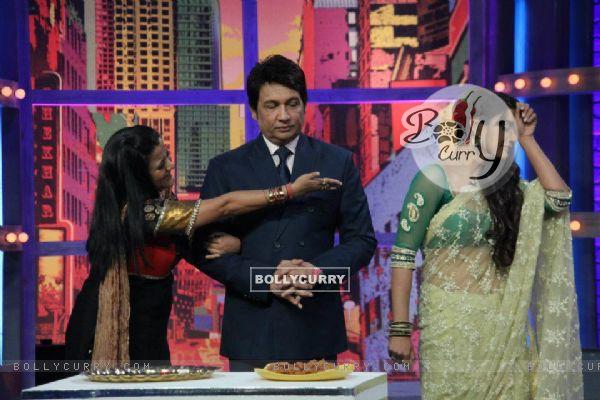 Rati Pandey ,Smita Singh and Shekhar Suman