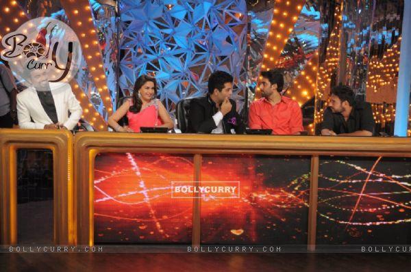 Karan, Remo, Madhuri, Abhishek and Ajay