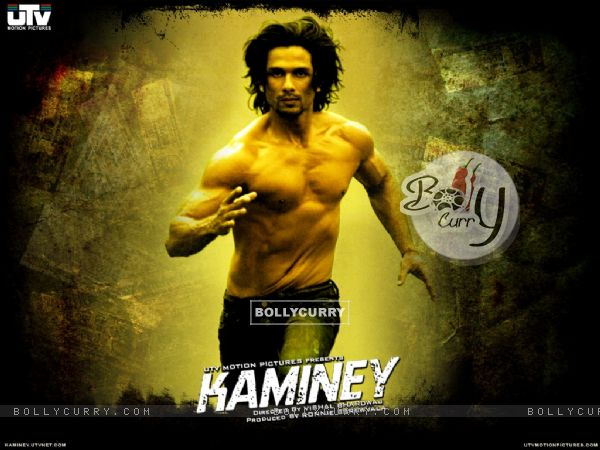 Shahid Kapoor running in Kaminey