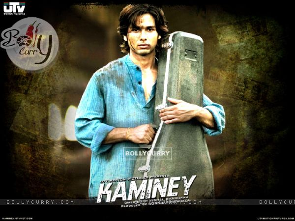 A still of Shahid Kapoor in the movie Kaminey