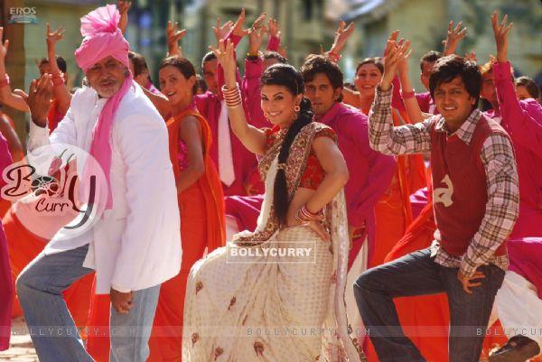 A still scene from Aladin movie
