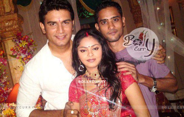 Sharad Kelkar with Supriya