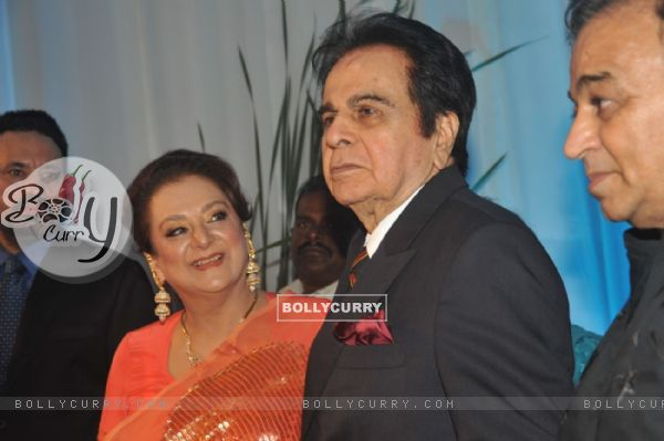 Saira Banu and Dilip Kumar at Esha Deol's Wedding Reception