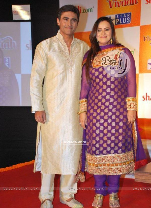 Mohnish Bahl with Ekta Bahl on Star Vivah