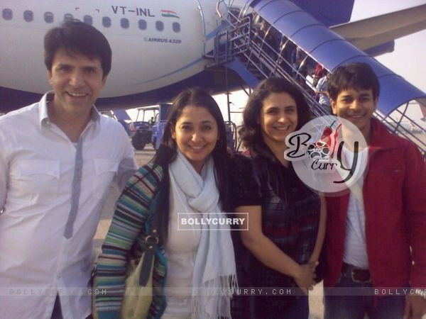 Jay, Sooraj, Supriya and Shruti